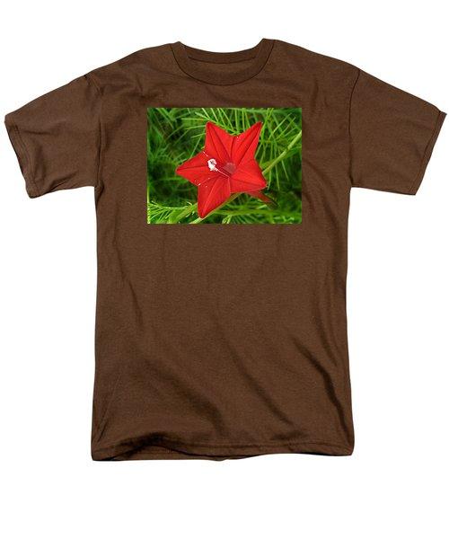Men's T-Shirt  (Regular Fit) featuring the photograph Hummingbird Vine by William Tanneberger