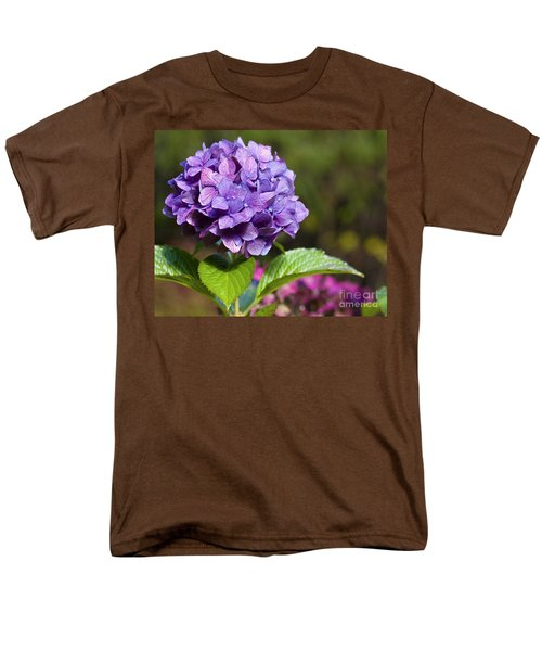 Men's T-Shirt  (Regular Fit) featuring the photograph Hydrangea by Belinda Greb