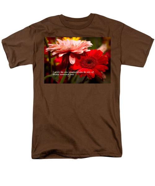 I Will Be An Inspiration Men's T-Shirt  (Regular Fit)