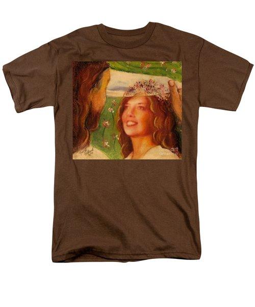 I Will Lift The Veil Men's T-Shirt  (Regular Fit) by Hazel Holland