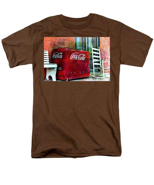 Ice Cold Coca Cola Men's T-Shirt  (Regular Fit) by Benanne Stiens