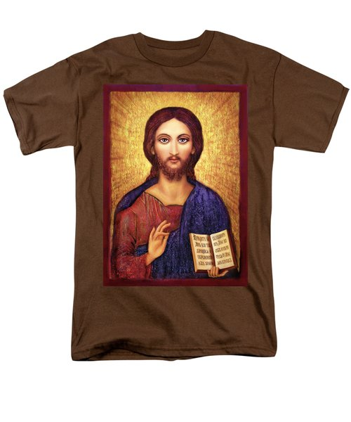 Icon Christ Men's T-Shirt  (Regular Fit) by Ananda Vdovic