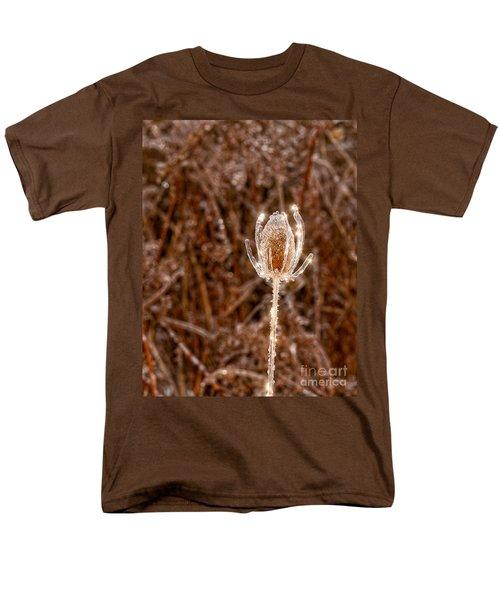 Icy Thistle Men's T-Shirt  (Regular Fit) by Les Palenik
