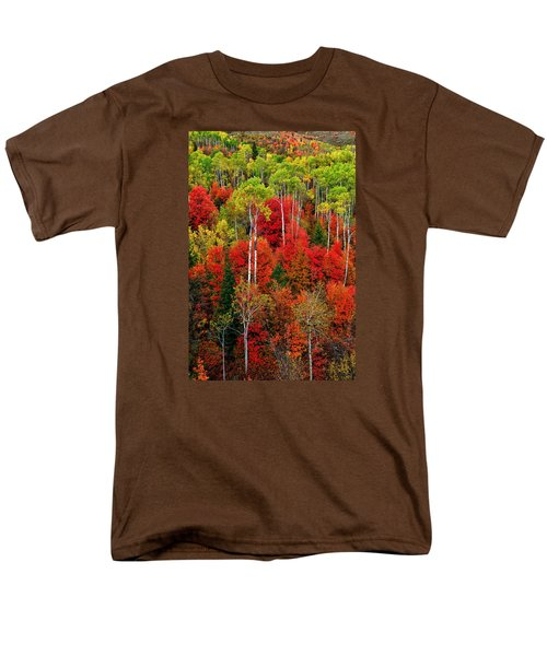 Men's T-Shirt  (Regular Fit) featuring the photograph Idaho Autumn by Greg Norrell