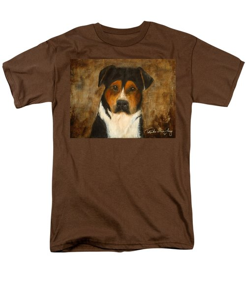 Men's T-Shirt  (Regular Fit) featuring the painting I'll Wait For You by Barbie Batson