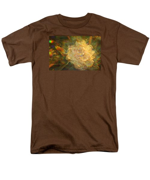 Men's T-Shirt  (Regular Fit) featuring the photograph Impressionistic Rose by Dora Sofia Caputo Photographic Art and Design