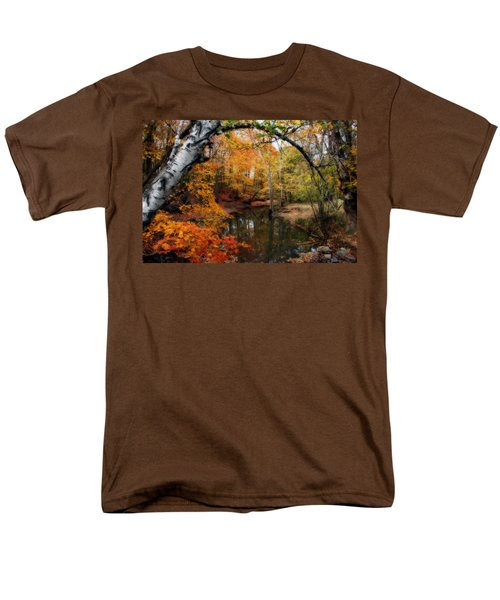 In Dreams Of Autumn Men's T-Shirt  (Regular Fit) by Kay Novy