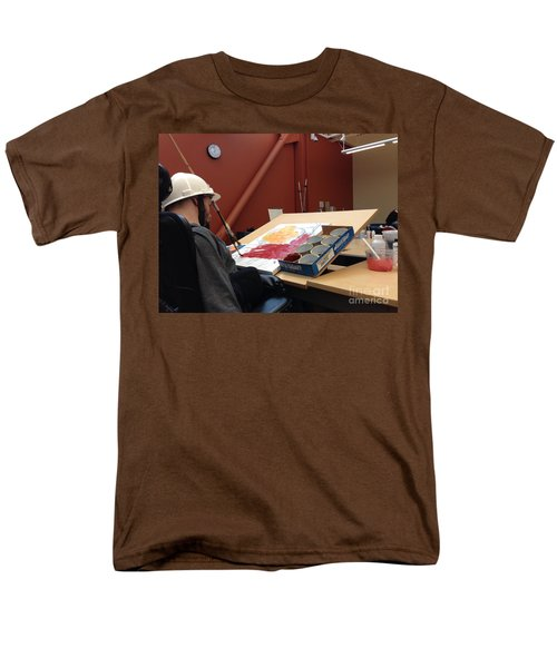 Men's T-Shirt  (Regular Fit) featuring the photograph In Studio by Donald J Ryker III
