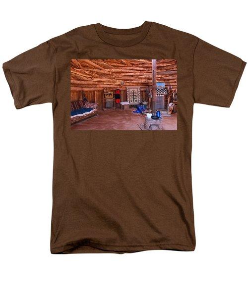 Inside A Navajo Home Men's T-Shirt  (Regular Fit) by Diane Bohna