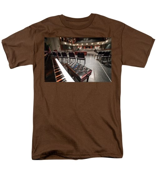 Men's T-Shirt  (Regular Fit) featuring the photograph Inside Theater by Alex Grichenko