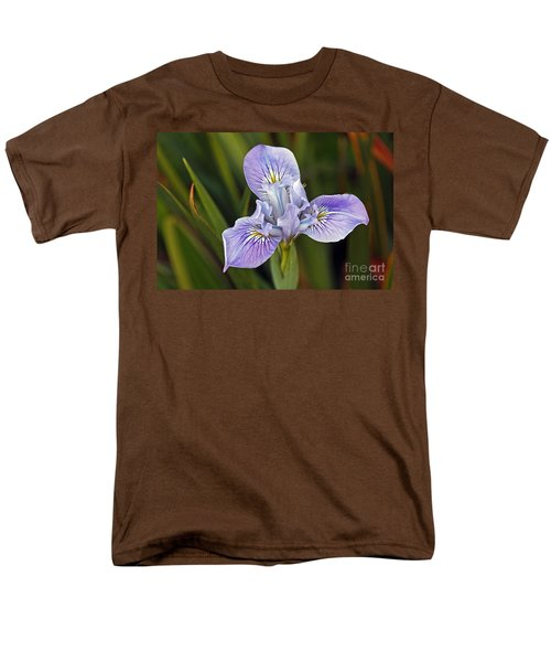 Men's T-Shirt  (Regular Fit) featuring the photograph Iris by Kate Brown