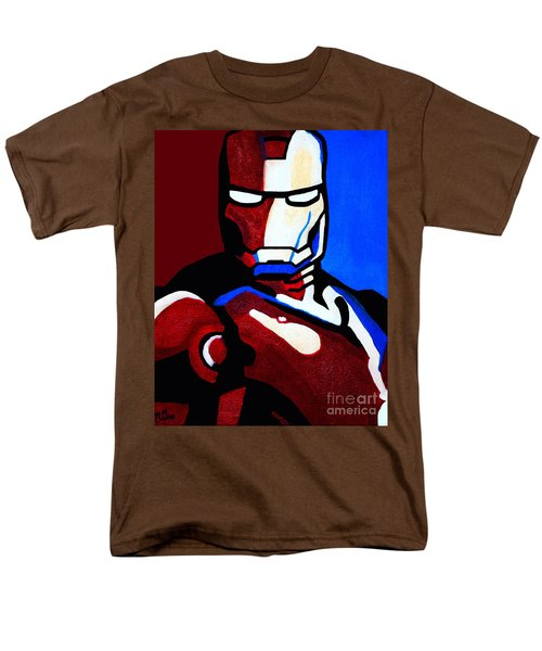 Iron Man 2 Men's T-Shirt  (Regular Fit) by Barbara McMahon
