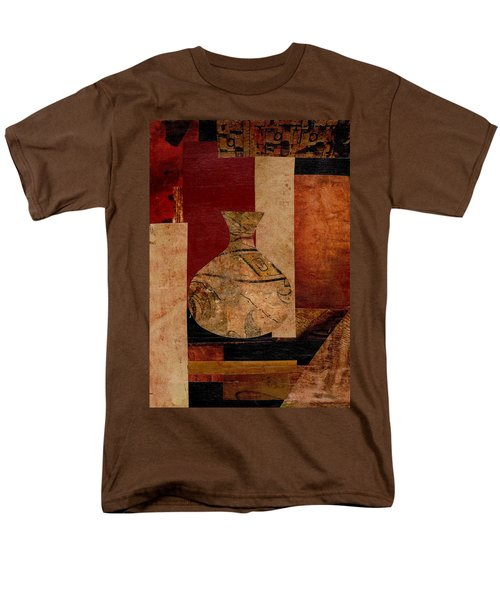Italian Urn Collage Men's T-Shirt  (Regular Fit) by Patricia Cleasby