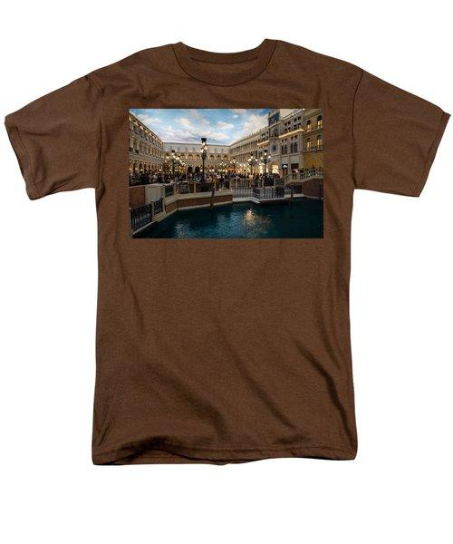 It's Not Venice Men's T-Shirt  (Regular Fit) by Georgia Mizuleva
