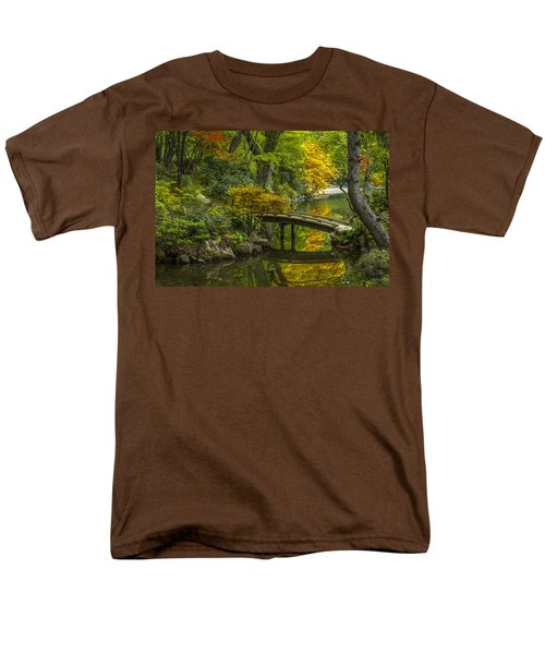 Men's T-Shirt  (Regular Fit) featuring the photograph Japanese Garden by Sebastian Musial