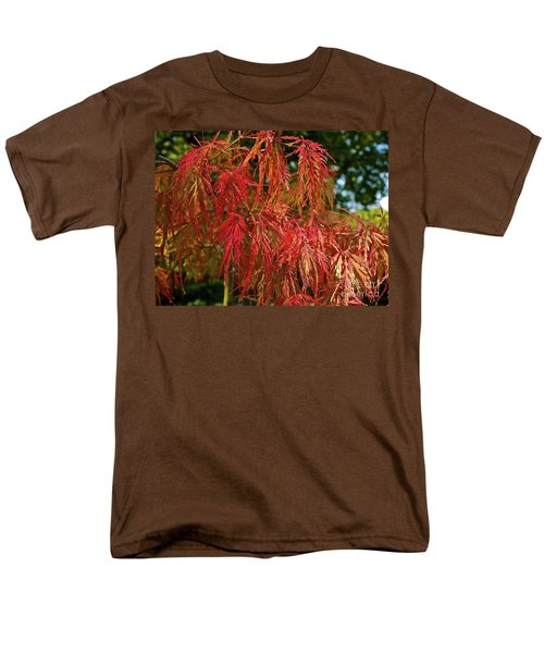 Japanese Maple Men's T-Shirt  (Regular Fit) by Linda Bianic