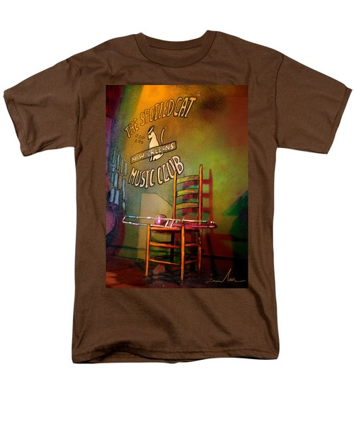 Jazz Break In New Orleans Men's T-Shirt  (Regular Fit) by Miki De Goodaboom