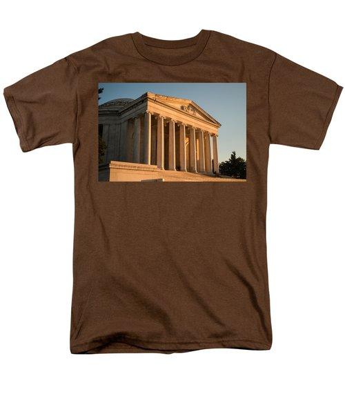 Jefferson Memorial Sunset Men's T-Shirt  (Regular Fit) by Steve Gadomski