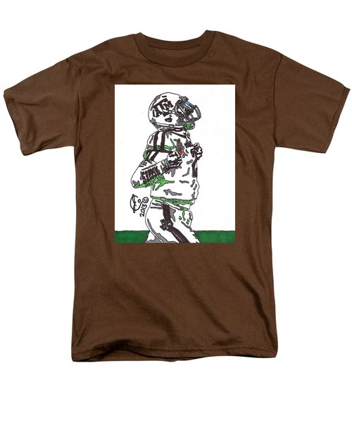 Johnny Manziel 4 Men's T-Shirt  (Regular Fit) by Jeremiah Colley