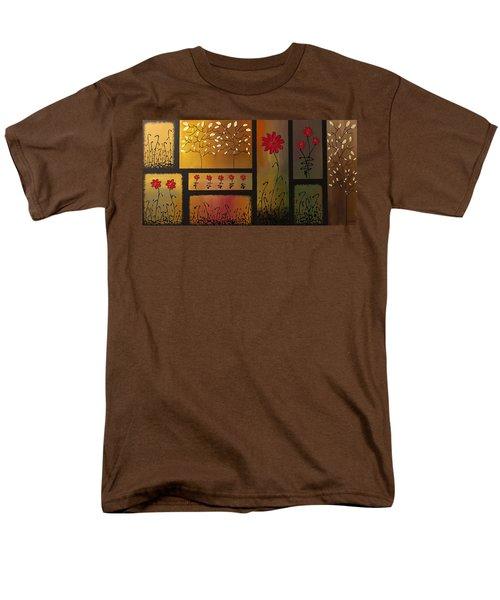 Joyful Garden Men's T-Shirt  (Regular Fit) by Carmen Guedez