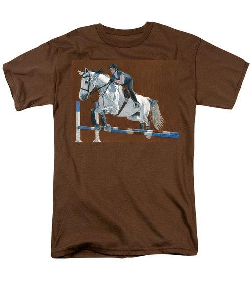 Jump Men's T-Shirt  (Regular Fit) by Patricia Barmatz