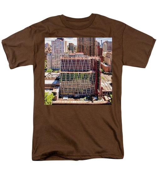 Jun2014rearwideabove Men's T-Shirt  (Regular Fit) by Steve Sahm