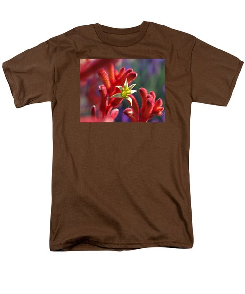 Men's T-Shirt  (Regular Fit) featuring the photograph Kangaroo Star by Evelyn Tambour