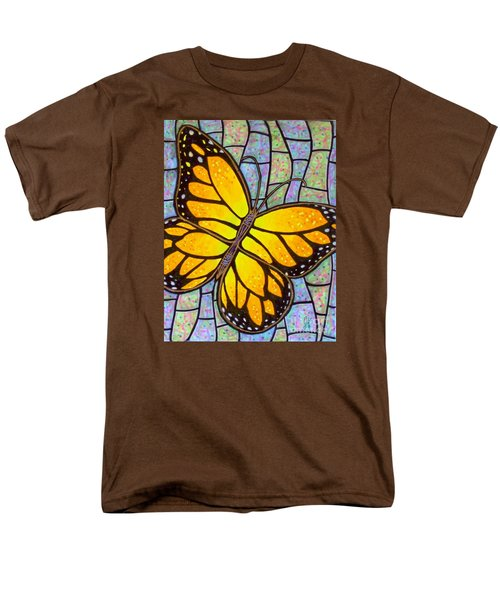 Men's T-Shirt  (Regular Fit) featuring the painting Karens Butterfly by Jim Harris