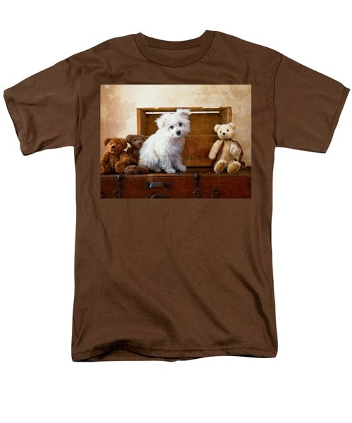 Men's T-Shirt  (Regular Fit) featuring the photograph Kip And Friends by Toni Hopper