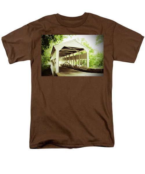 Knox Bridge Men's T-Shirt  (Regular Fit) by Michael Porchik