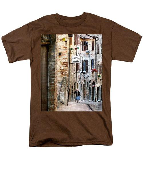 Lady In Urbino Men's T-Shirt  (Regular Fit) by Jennie Breeze