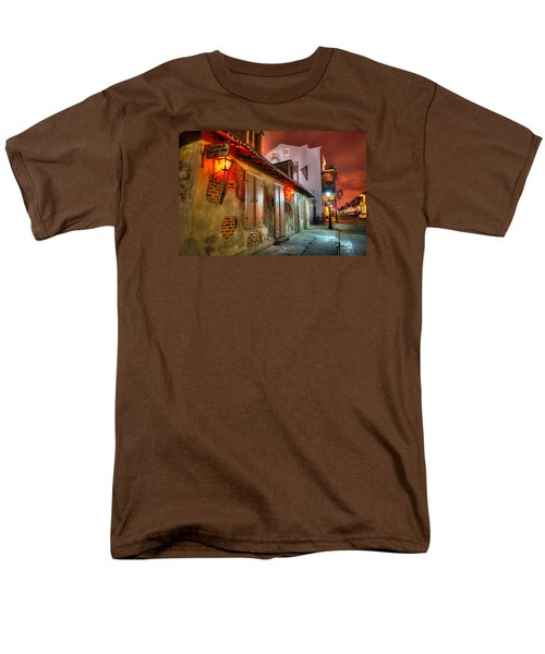 Men's T-Shirt  (Regular Fit) featuring the photograph Lafitte's Blacksmith Shop by Tim Stanley