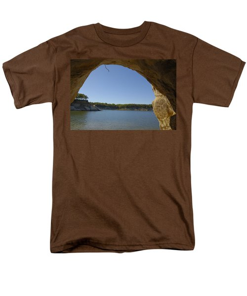 Lake Texoma Eisenhower State Park  Texas Men's T-Shirt  (Regular Fit) by Charles Beeler