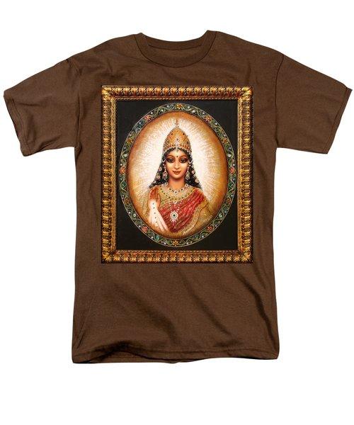 Lakshmi Goddess Of Abundance Men's T-Shirt  (Regular Fit) by Ananda Vdovic