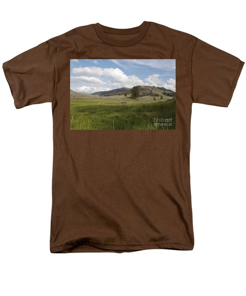 Men's T-Shirt  (Regular Fit) featuring the photograph Lamar Valley No. 2 by Belinda Greb