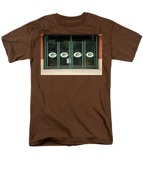 Lambeau Field - Green Bay Packers Men's T-Shirt  (Regular Fit) by Frank Romeo