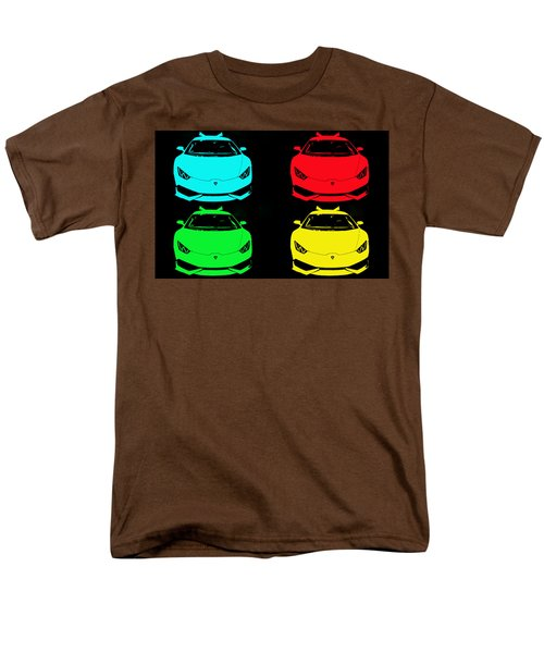 Men's T-Shirt  (Regular Fit) featuring the photograph Lambo Pop Art by J Anthony