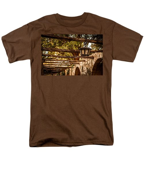 Lamps At The Alamo Men's T-Shirt  (Regular Fit) by Melinda Ledsome