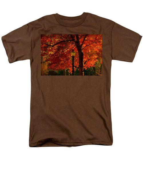Lantern In Autumn Men's T-Shirt  (Regular Fit) by Susanne Van Hulst