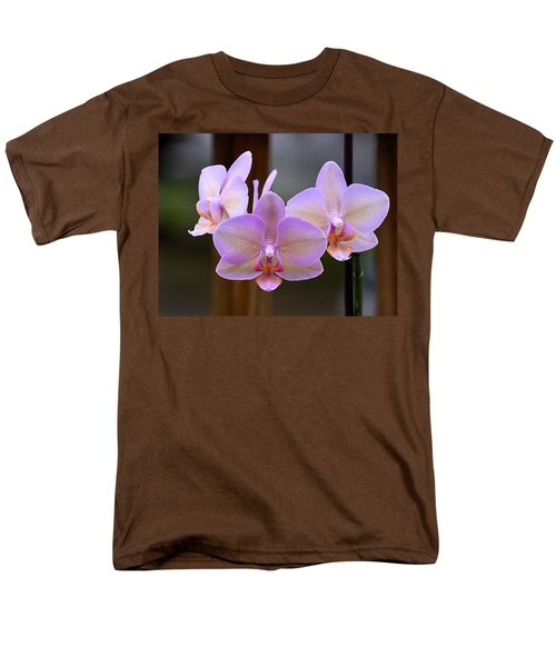 Lavender Orchid Men's T-Shirt  (Regular Fit) by Kathy Eickenberg