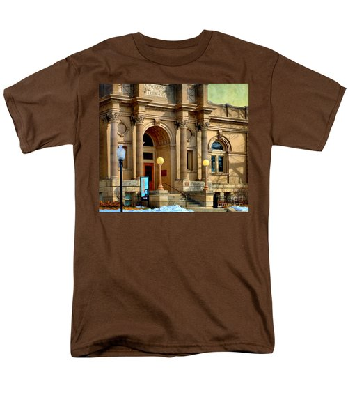 Lawrence City Library Men's T-Shirt  (Regular Fit) by Liane Wright
