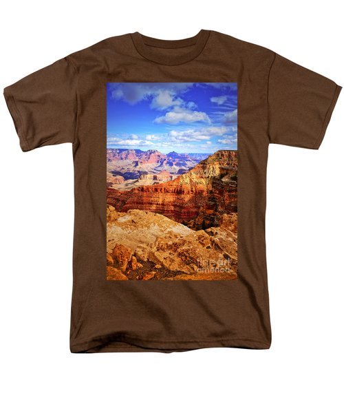 Layers Of The Canyon Men's T-Shirt  (Regular Fit) by Tara Turner