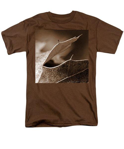 Men's T-Shirt  (Regular Fit) featuring the photograph Leaf Collage 2 by Lauren Radke