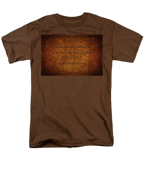 Leave A Trail Men's T-Shirt  (Regular Fit) by Sennie Pierson