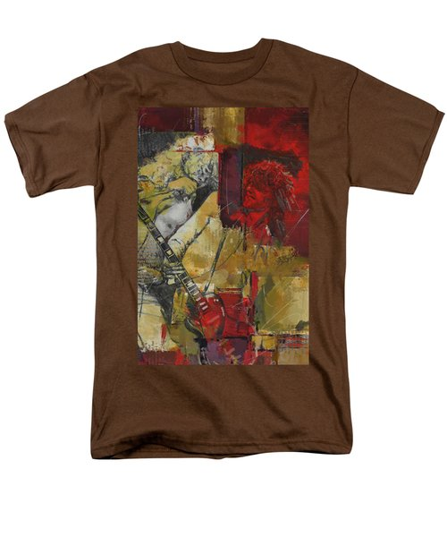 Led Zeppelin Men's T-Shirt  (Regular Fit) by Corporate Art Task Force