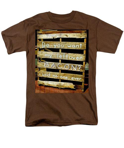 Leftover Bacon Men's T-Shirt  (Regular Fit) by Jeff Gater