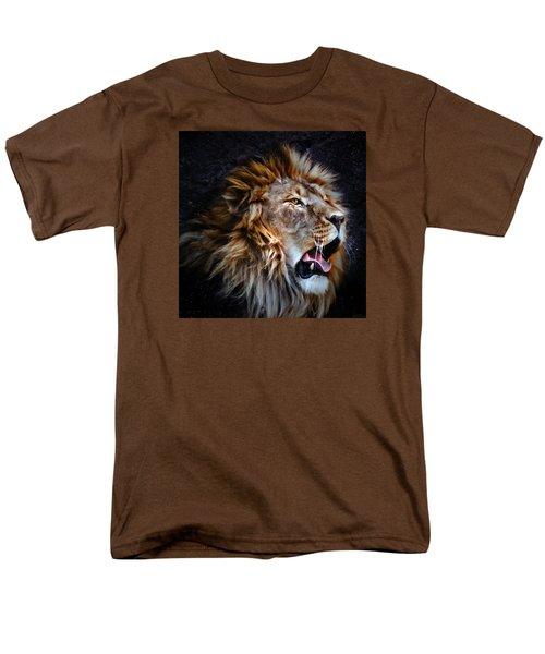 Men's T-Shirt  (Regular Fit) featuring the photograph LEO by Elaine Malott