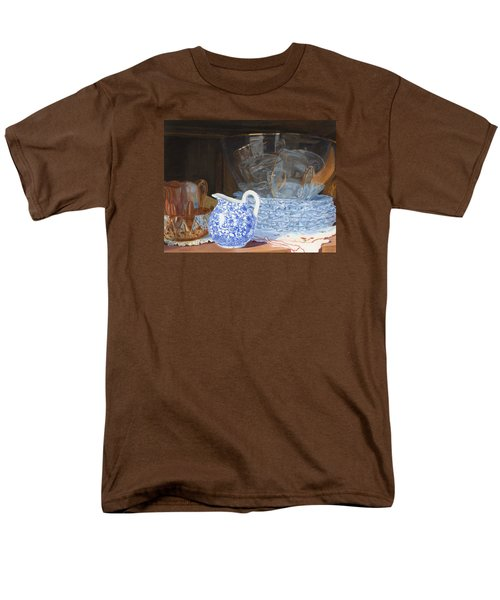 Men's T-Shirt  (Regular Fit) featuring the painting Life Is A Carnival Glass by Lynne Reichhart