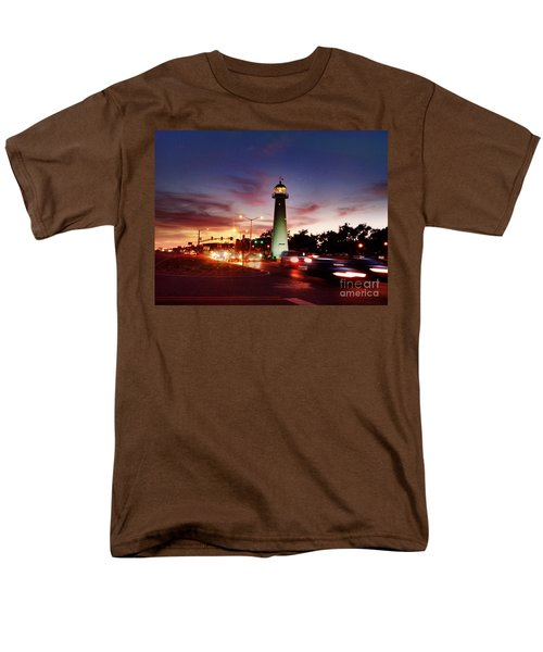 Light House Men's T-Shirt  (Regular Fit) by Janice Spivey