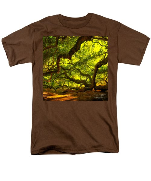 Lighter Version 40x40 Men's T-Shirt  (Regular Fit) by Susanne Van Hulst
